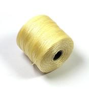 S-Lon Bead Cord Pale Yellow