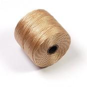 S-Lon Bead Cord Light Brown