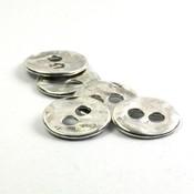 Knoop, 2 gaten ca. 13x2 mm (10st)