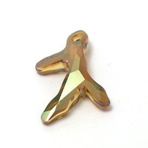 Swarovski Swarovski crystal silver copper 6790 Coral Pendant (3 sprigs)
