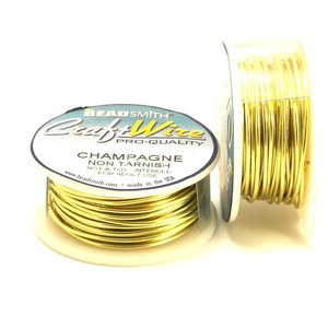 BeadSmith Craft Wire 'Champagne' 18-28 gauge
