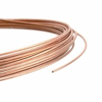 Rose Goldfilled 14kt draad Dead Soft 18-28 gauge