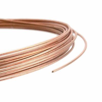 Rose Goldfilled 14kt draad Half Hard 18-26 gauge