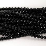 Onyx kralen 4 mm rond (streng)