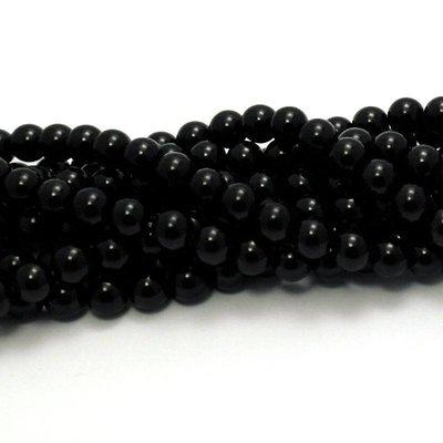 Onyx kralen 6 mm rond (streng)
