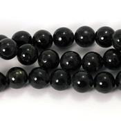 Ioliet kralen 8 mm rond (streng)