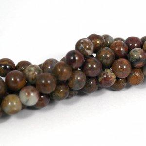 Pietersiet kralen 6 mm rond (streng)