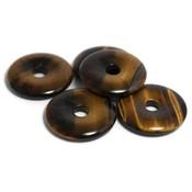 Tijgeroog donut hanger (per stuk)
