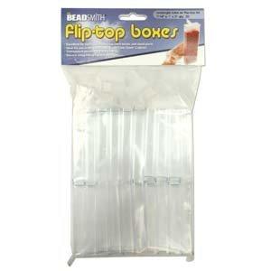 Fliptop doosjes 1 x 2,5 x 7,5 cm (20 stuks)