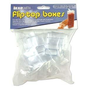 Fliptop doosjes 1 x 2,5 x 4,0 cm (20 stuks)