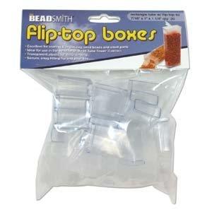 Fliptop doosjes 1 x 2,5 x 3,0 cm (20 stuks)