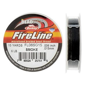 Beadalon FireLine Smoke 0,15 mm / 6lbs