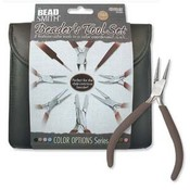 BeadSmith Beader's Tool Set Chocolate