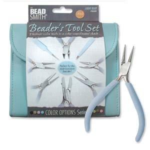 BeadSmith Beader's Tool Set Light Blue