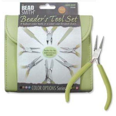 BeadSmith Beader's Tool Set Light Olive
