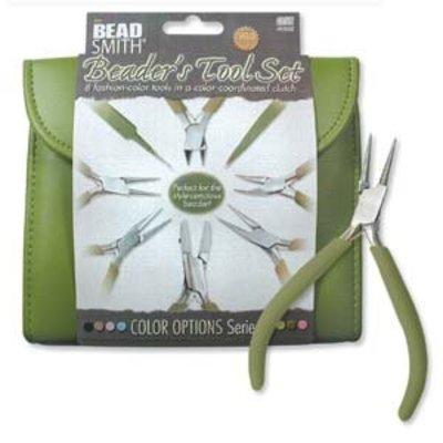 BeadSmith Beader's Tool Set Olive