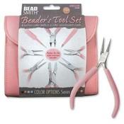 BeadSmith Beader's Tool Set Bubblegum Pink
