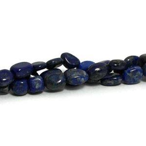 Lapis lazuli kralen nuggets (streng)