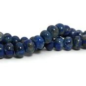 Lapis lazuli kralen 8~9x5~7 mm abacus (streng)