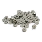 Metalen kralen spacer 4,5 x 2 mm (zakje 50 st)