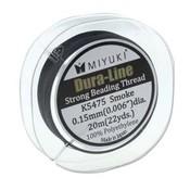 Miyuki Dura-Line Smoke Grey  0,15 mm