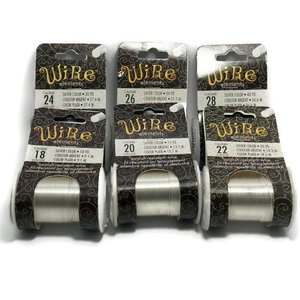 BeadSmith Wire Elements Silver voordeelpakket