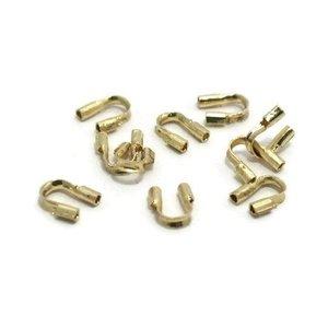 Draadbeschermers 5 mm goudkleur Ø 0,56 (10 stuks)