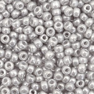 Miyuki rocailles 8/0 ceylon silver gray 526 (tube)