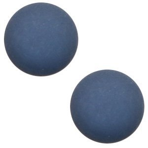 Polaris cabochon 12 mm matt radiant blue (p/st)