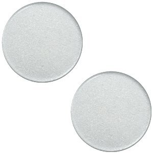 Polaris cabochon 12 mm ice grey (p/st)