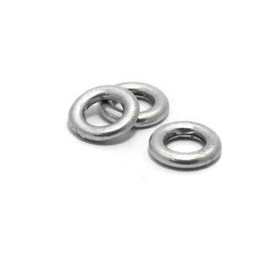 Dichte ring 10 mm antiek zilverkleur (p/st)