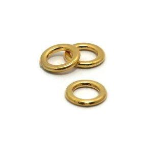 Dichte ring 10 mm goudkleur (p/st)