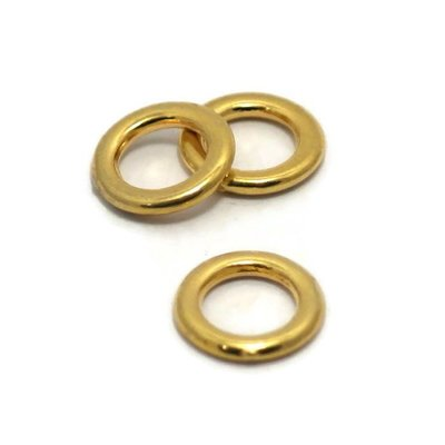 Dichte ring 11 mm goudkleur (p/st)