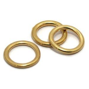 Dichte ring 20 mm goudkleur (p/st)