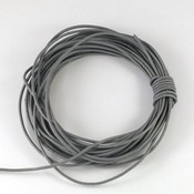 Lederen koord 1,5 mm grijs (5 meter)