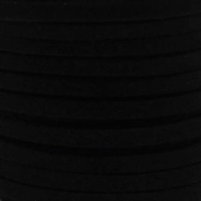 Faux suède Black (5 meter)