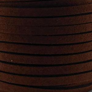 Faux suède Dark Brown (5 meter)