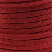 Faux suède Light Red (5 meter)