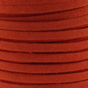Faux suède Orange (5 meter)