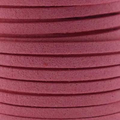 Faux suède Pink (5 meter)