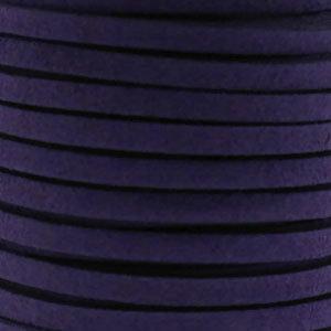 Faux suède Purple (5 meter)