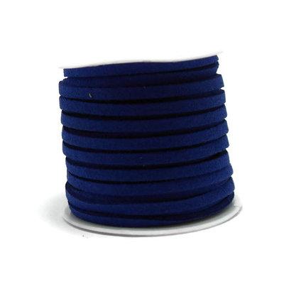 Faux suède Royal Blue (5 meter)