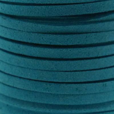 Faux suède Turquoise Blue (5 meter)