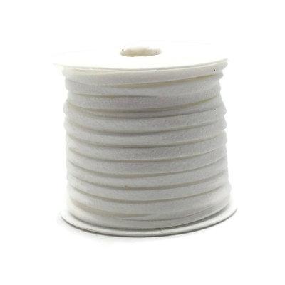 Faux suède White (5 meter)