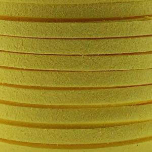 Faux suède Yellow (5 meter)