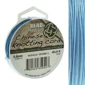 BeadSmith Chinese Knotting Cord Neon Blue 0,8 mm