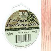 BeadSmith Chinese Knotting Cord Pink 0,8 mm