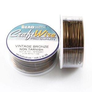 BeadSmith Craft Wire 'Vintage Bronze' - 20  gauge - voordeelverpakking