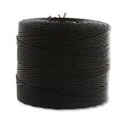 S-Lon Fine Bead Cord Black