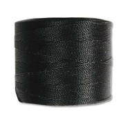 S-Lon Micro Bead Cord Black